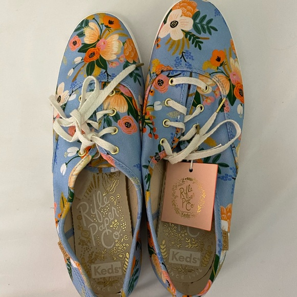 NWT Keds  Rifle Paper Co edition sneakers